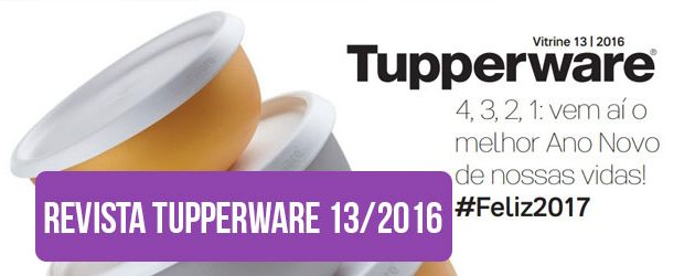 Capa Post Revista Tupperware 13/2016